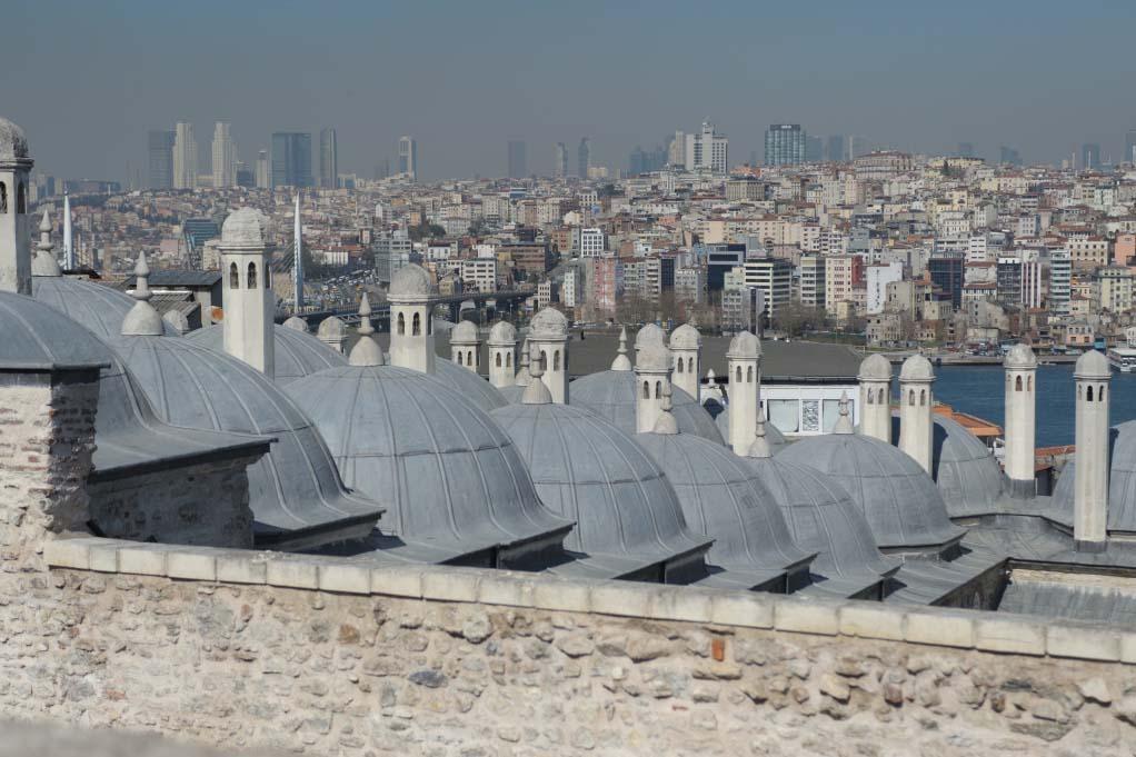 Достопримечательности Стамбула — Мечеть Сулеймание, фото