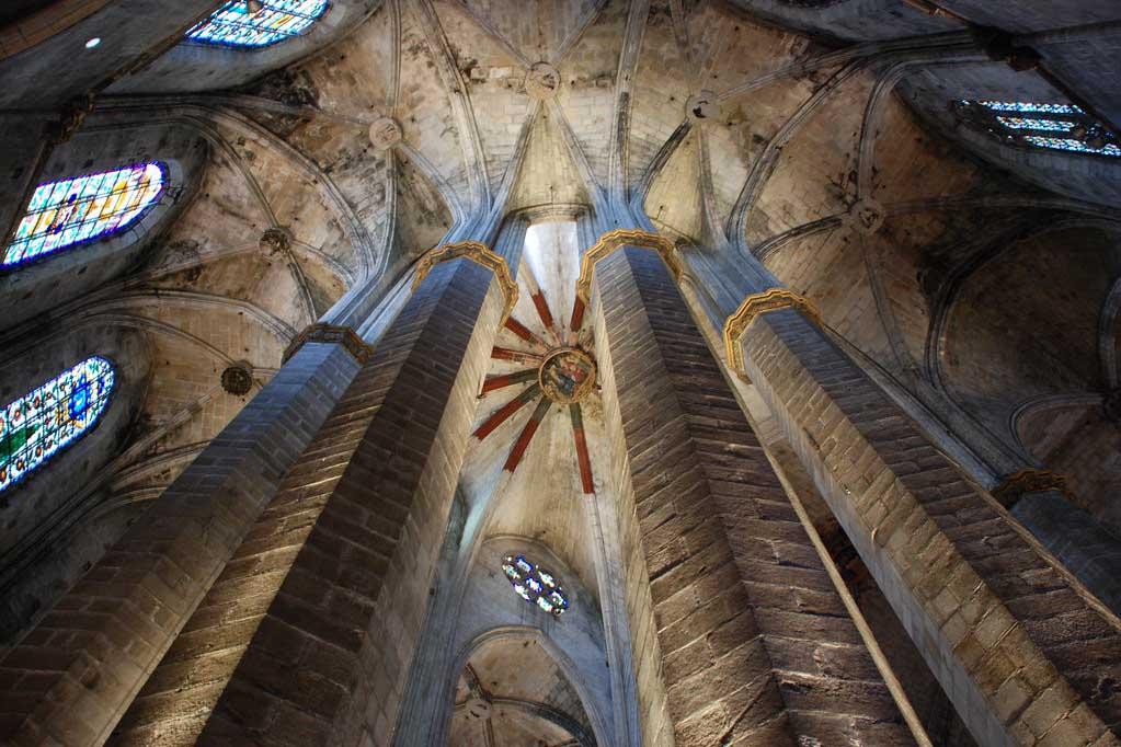 Архетиктура, церковь Санта Мария дель Мар