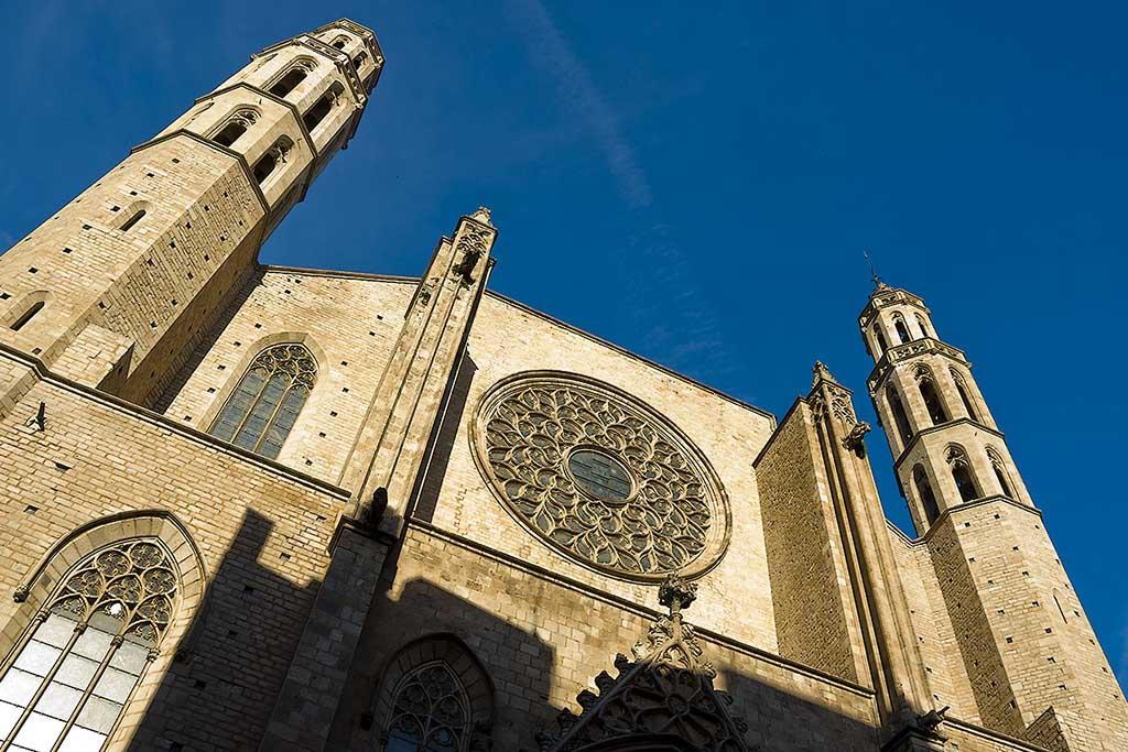 Базилика Санта Мария дель Мар, фото