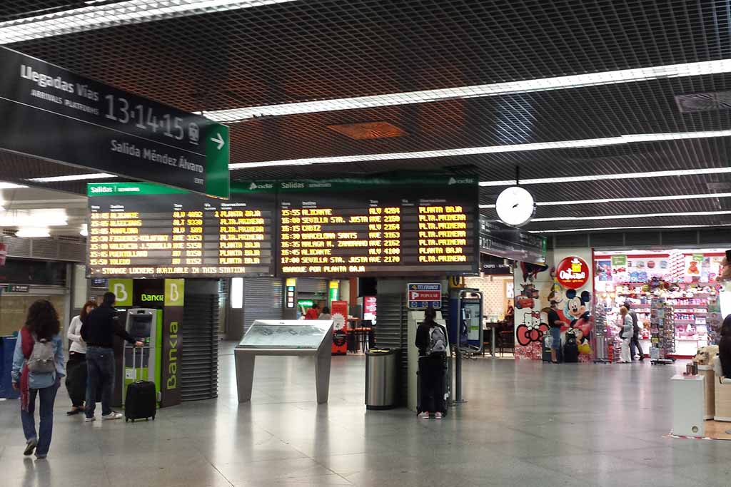 Мадрид, вокзал Аточа