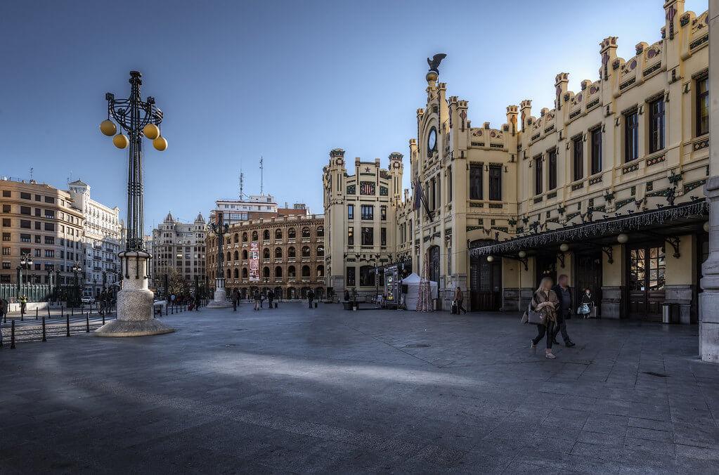 ЖД вокзалы в Испании