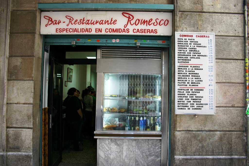 Закусочные и бары в Барселоне — где недорого поесть