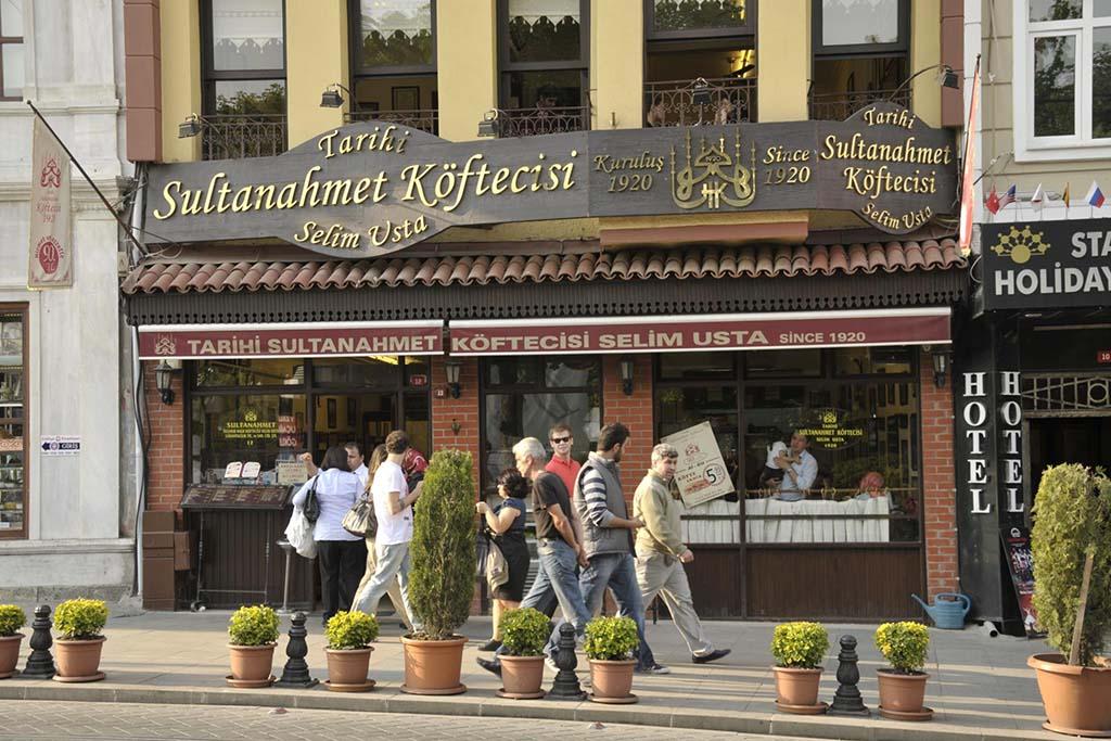 Закусочные Стамбула
