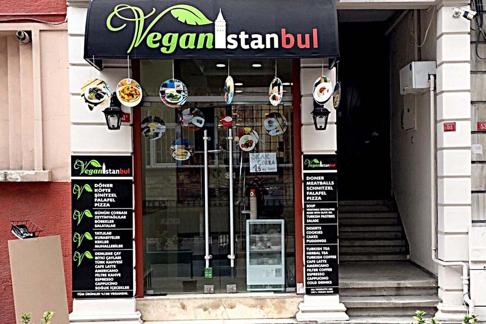 Вегетарианское кафе, Стамбул