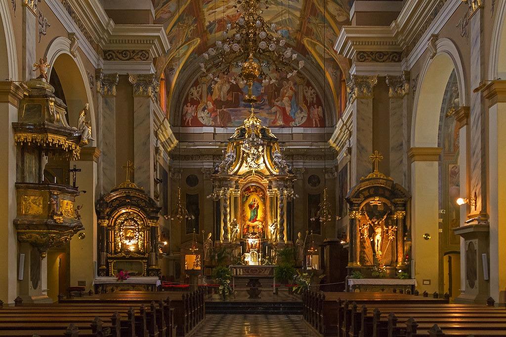 Любляна, Францисканская церковь