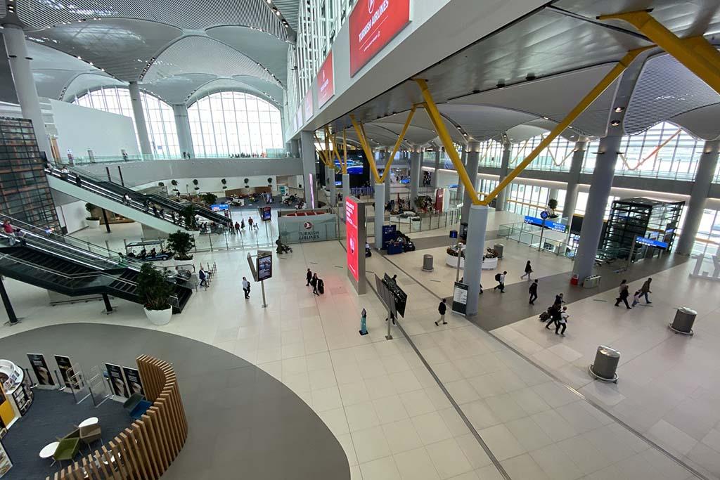 Аэропорт Стамбула, ТУрция