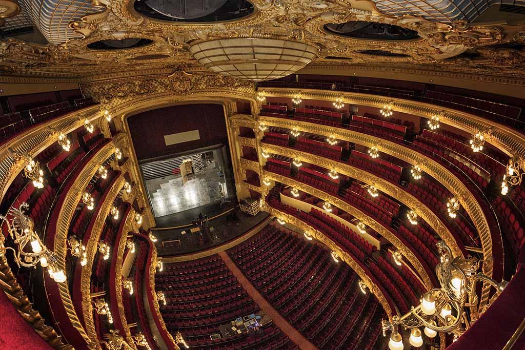 Оперный театр Лисеу, билеты