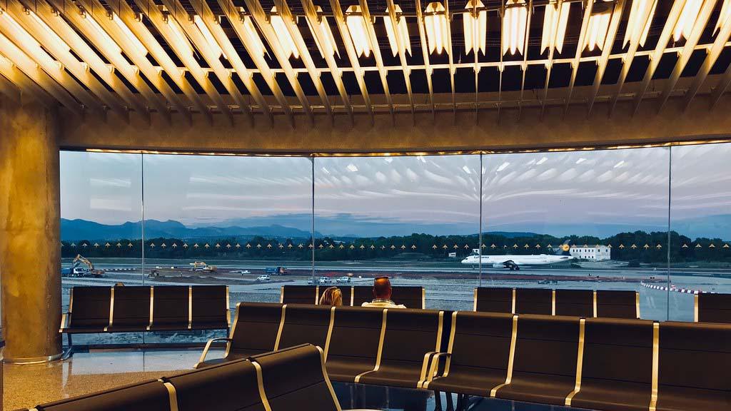 Аэропорт PMI — залы ожидания