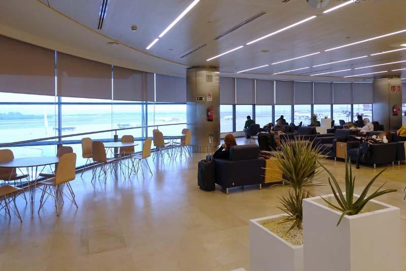 Залы ожидания, аэропорт Мадрид