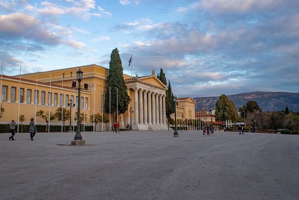 Национальный сад в Афинах. как добраться