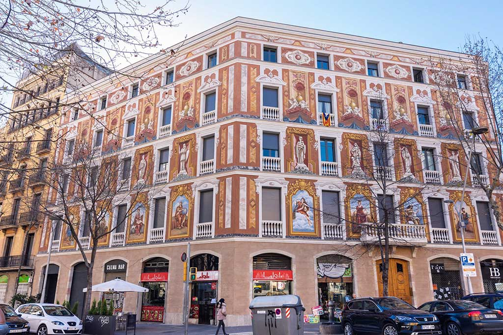 Район Эшампле, Барселона