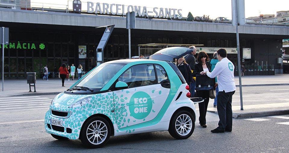 Где взять в аренду авто в Барселоне