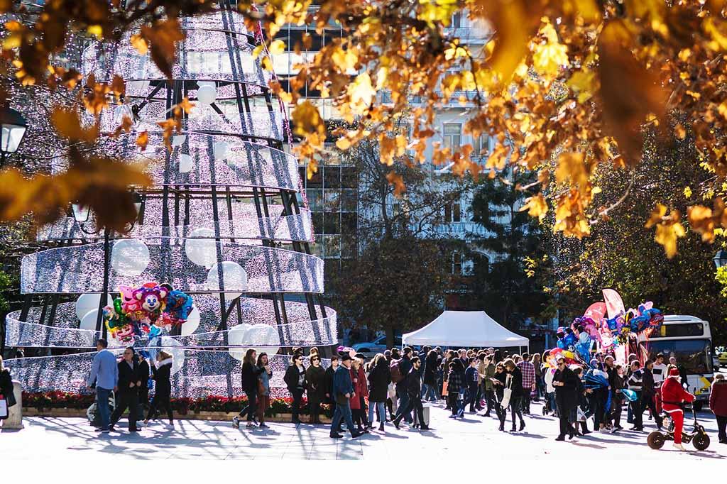 Погода в Афинах в декабре