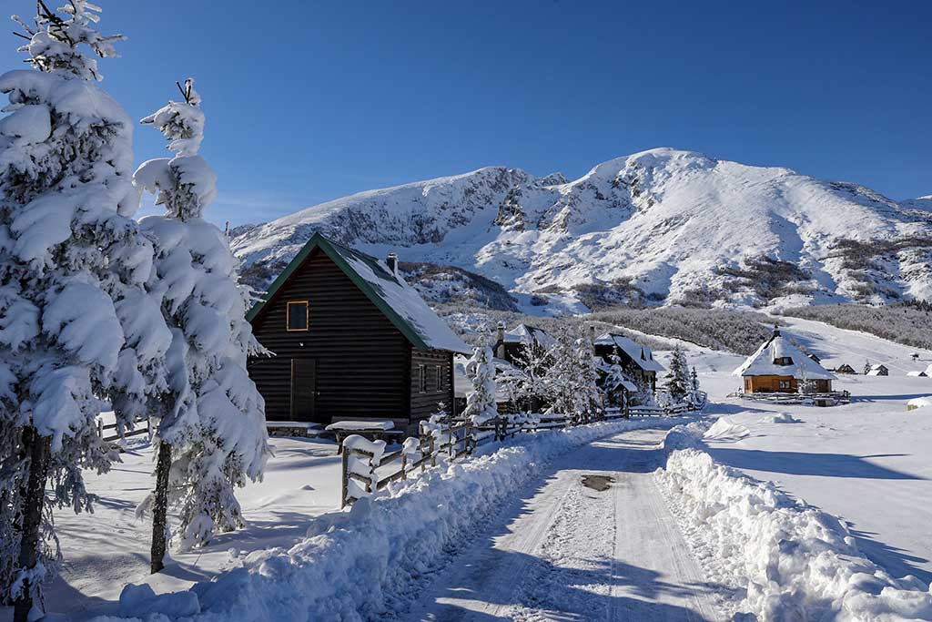 Черногория сезон, зима