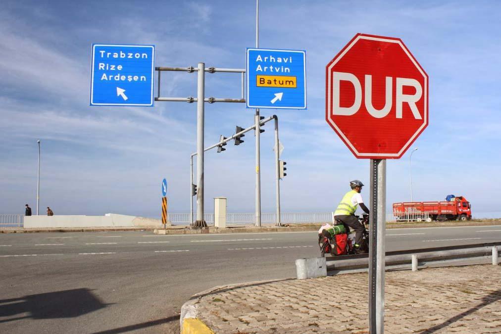 Дорожные знаки Турции